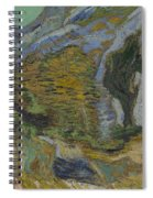 Ravine With A Small Stream Saint Remyde Provence  October 1889 Vincent Van Gogh 1853  1890 Spiral Notebook