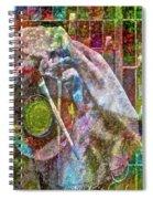Raw Impression Spiral Notebook