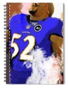 Ray Lewis  Spiral Notebook