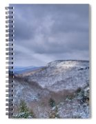 Ray Of Light On Mountain Spiral Notebook