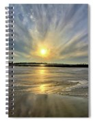Rayed Marsh Spiral Notebook