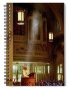 Raymond Hunthausen 4 Spiral Notebook