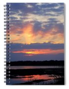 Rays Of Glory Spiral Notebook