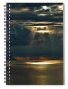 Rays Of God  Spiral Notebook