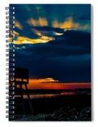 Rays Of Sunshine Spiral Notebook
