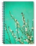Reach - Botanical Wall Art Spiral Notebook