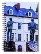 Reach Out - Belfast Ireland Spiral Notebook