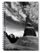 Reaching For The Clouds Spiral Notebook