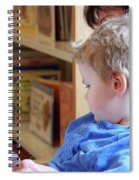 Reading Nurtures The Gardens Of The Mind Spiral Notebook