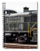 Reading Rr Engine 467 Spiral Notebook