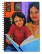 Reading With Mom Spiral Notebook