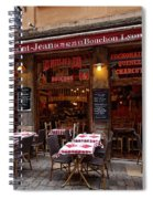 Ready For Diners Spiral Notebook