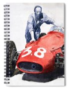 Ready For Racing Maserati 250 F Spiral Notebook