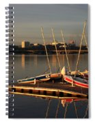 Ready For Sailing Spiral Notebook