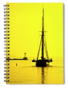 Ready For Sails  Spiral Notebook