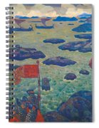 Ready For The Campaign, The Varangian Sea Spiral Notebook