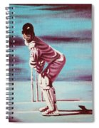 Ready To Bat Spiral Notebook