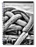 Ready To Dock Art Spiral Notebook