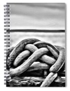 Ready To Dock Spiral Notebook