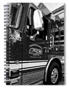 Ready To Serve Bw Spiral Notebook