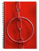 Really Red Spiral Notebook