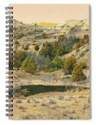 Realm Of Golden West Dakota Spiral Notebook