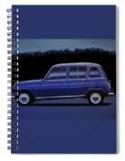 Renault 4 1961 Painting Spiral Notebook