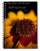 Reap In Joy Spiral Notebook