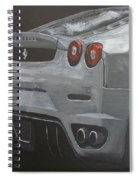 Rear Ferrari F430 Spiral Notebook