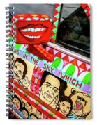 Rear View Mirror Of The Car-nola Spiral Notebook