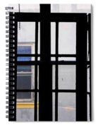 Rear Window 1 Spiral Notebook