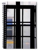 Rear Window 1 Spiral Notebook