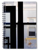 Rear Window 3 Spiral Notebook