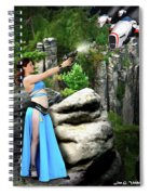 Rebel Stand Spiral Notebook