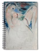 Reclining Female Nude Spiral Notebook