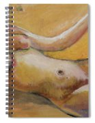 Reclining Nude 1 Spiral Notebook