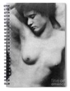 Reclining Nude, C1910 Spiral Notebook