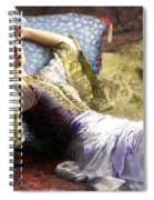 Reclining Odalisque Spiral Notebook