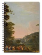 Reconciliation Of Jacob And Esau Spiral Notebook