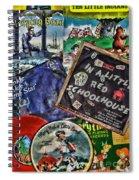 Records For Children Spiral Notebook