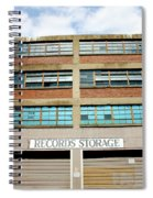 Records Storage- Nashville Photography By Linda Woods Spiral Notebook
