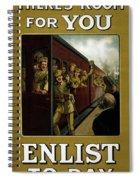 Recruitment Poster  Spiral Notebook