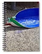 Recycled Oil Drum On Hard Spiral Notebook