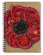 Recycled Poppy Spiral Notebook