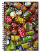 Recycling Cans Spiral Notebook