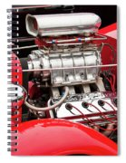 Red 1992 Spiral Notebook
