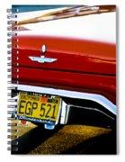 Red '57 T-brid Spiral Notebook