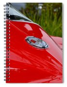 Red 63 Vette Spiral Notebook