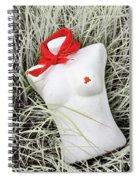 Red #7127 Spiral Notebook