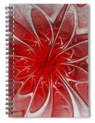 Red And Black  -f D- Spiral Notebook